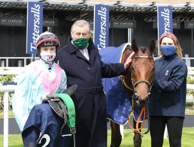 Helvic Dream, winner of the Group 1 Tattersalls Gold Cup, was purchased at the September Yearling Sale for €12,000