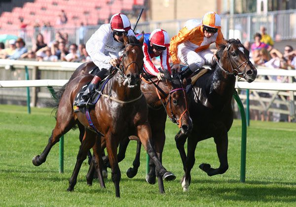 Coupe De Ville hits the lead ahead of Tell Dad and Mehdi