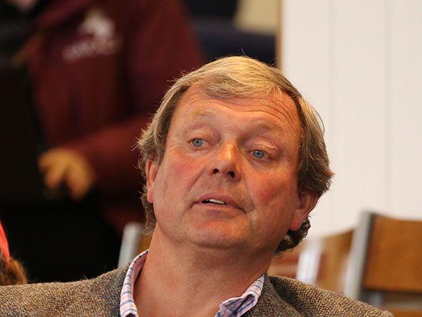 Trainer William Haggas