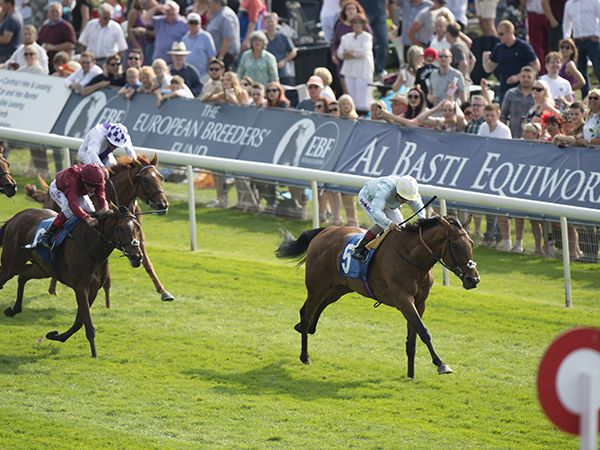 Abingdon winning the Listed Galtres Stakes