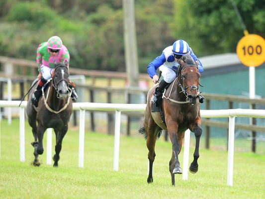 Bailly winning at Bellewstown