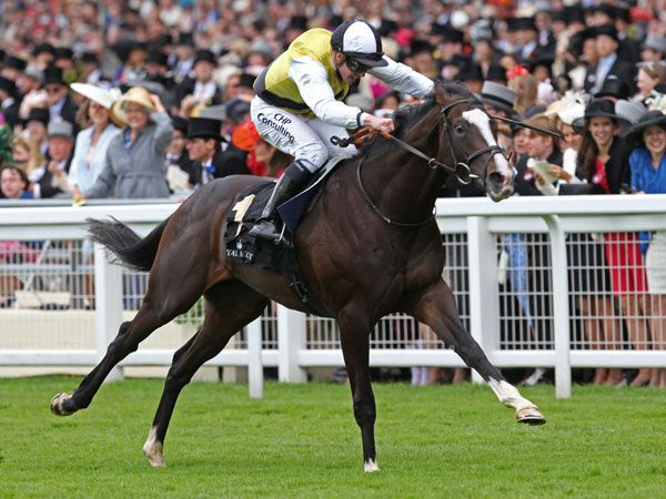 Berkshire winning the Listed Chesham Stakes (Copyright Trevor Jones)