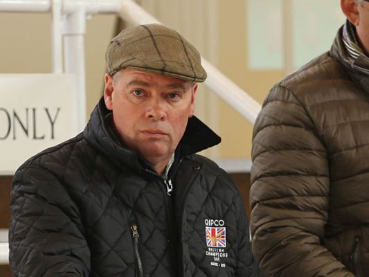 Trainer Clive Cox at Tattersalls