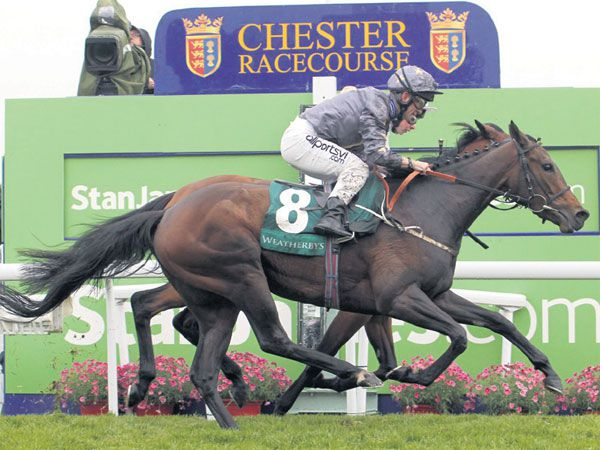 LR Cheshire Oaks winner Good Morning Star, was purchased at the February Sale for 9,000 gns