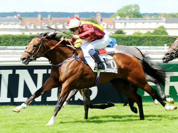 Havana Gold Winning the G1 Prix Jean Prat