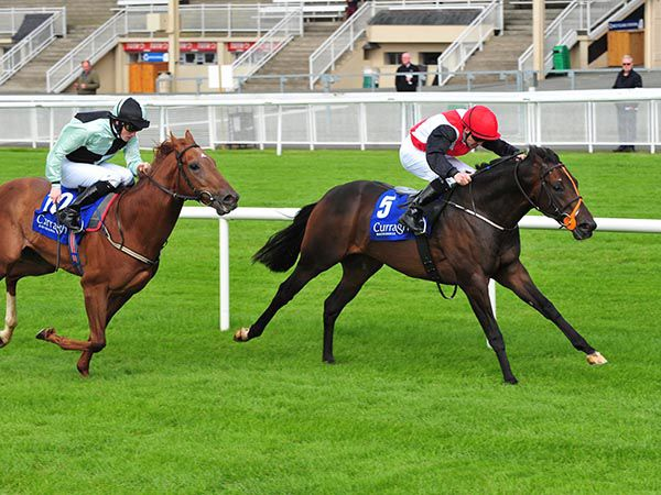 Khukri winning at The Curragh