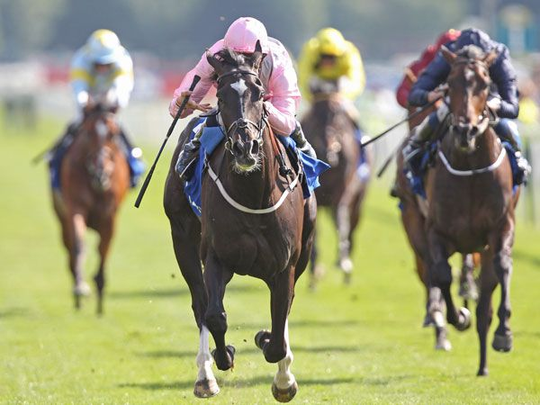 The Fugue Winning the G1 Yorkshire Oaks