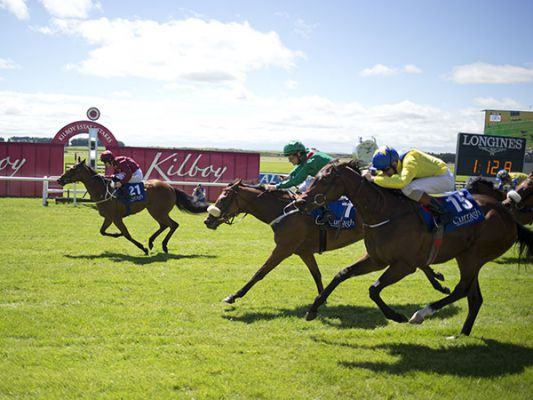 Velveteen holds on to win her maiden at the Curragh