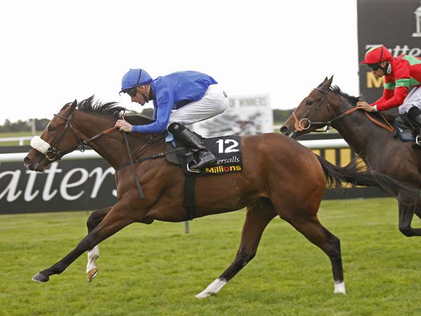 Wedding Ring beats Manderley in the £300,000 Fillies' 2YO Trophy