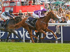 AUSTRALIA winning the G1 Investec Derby