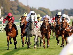 Eldritch Winning at Haydock