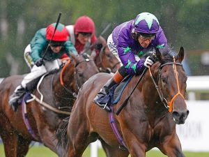 Ivawood Winning the G2 July Stakes