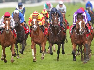 October 1 graduate Leading Light (Right) Wins the G1 St Leger
