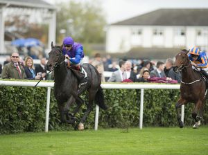 MARCEL winning the Gr. 1 Racing Post Trophy (Copyright Edward Whitaker)