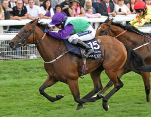 Margot Did winning the Nunthorpe Stakes