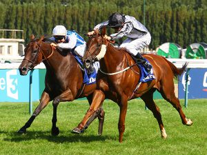 Odeliz Winning the G1 Prix Jean Romanet