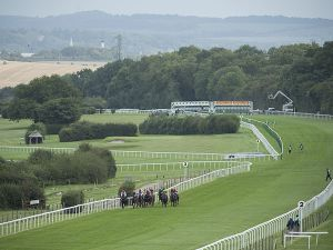 The picturesque Salisbury racecourse