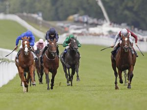 TORONADO Winning QIPCO Sussex Stakes